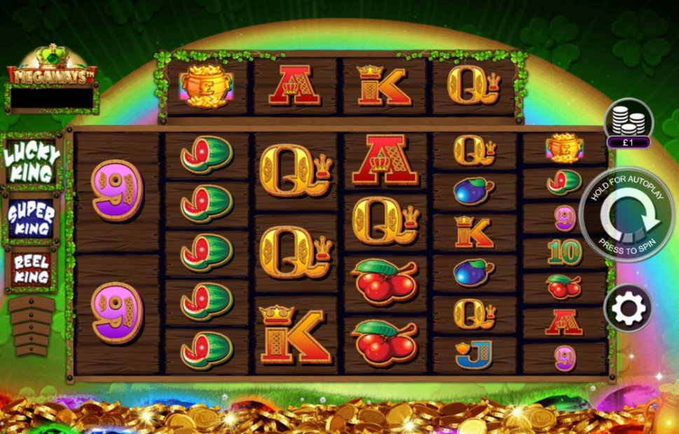 reel lucky king megaways slot-rollen von inspired gaming