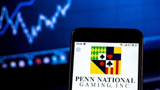 das einkommen von penn national im ersten quartal stieg jedoch nur mit ausnahme der zahlen für 2019 um 14